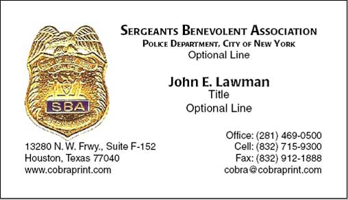 sample card - Business Cards Nyc