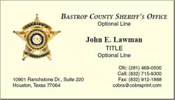 Cobra printing productions bcso business cards sample card colourmoves